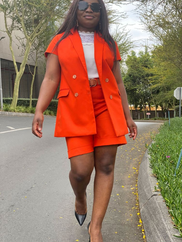 Summer Short and Blazer Set (All Colours) : R1500