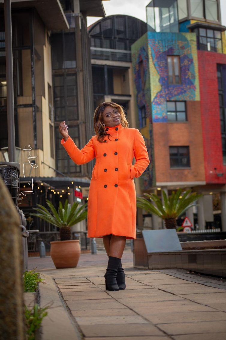 Orange Winter Jacket (R1600)