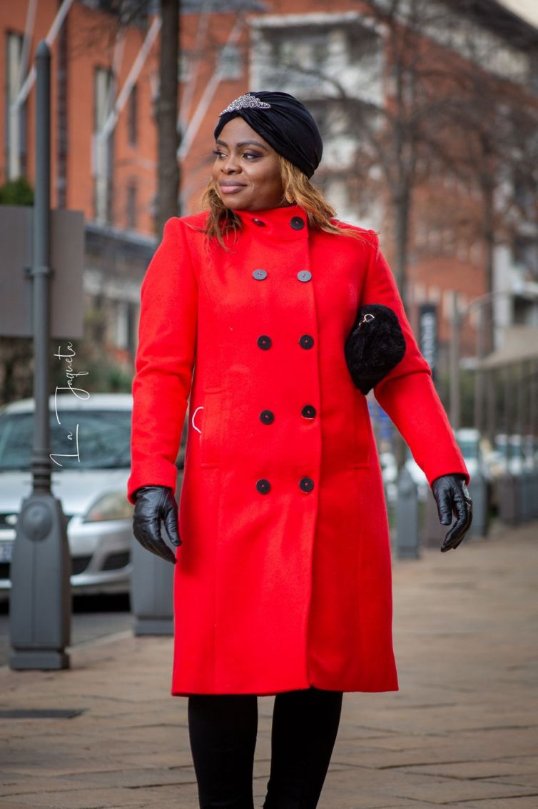 Red Winter Jacket : R1600